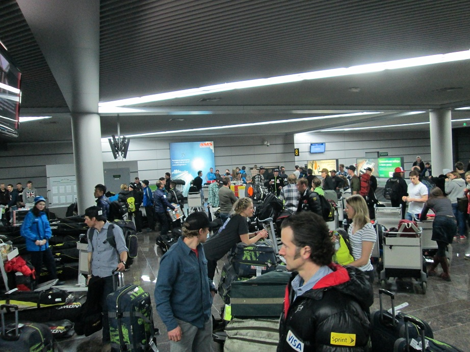 Sochi Baggage Sorting