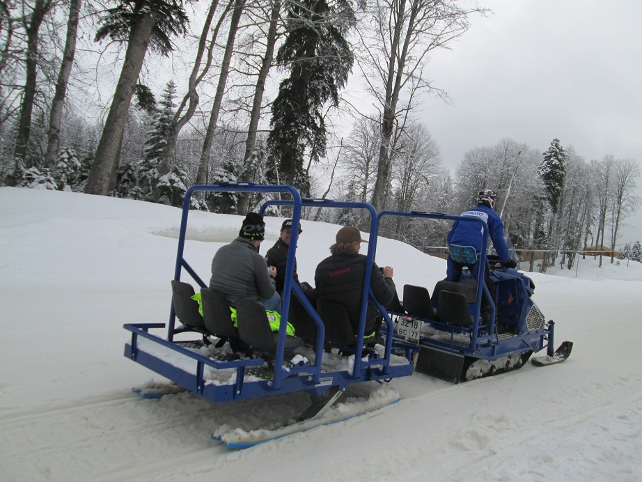 Sochi Snow Shuttles
