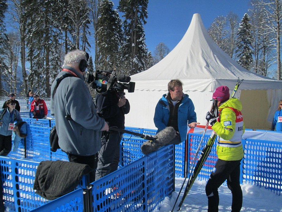 Kikkan Randall NBC Interview