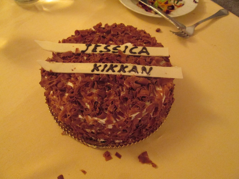 Kikkan and Jessie's Cake
