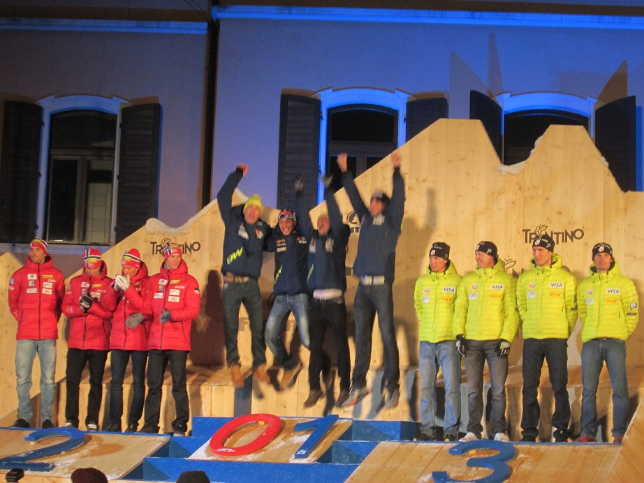 France Nordic Combined Relay World Champions