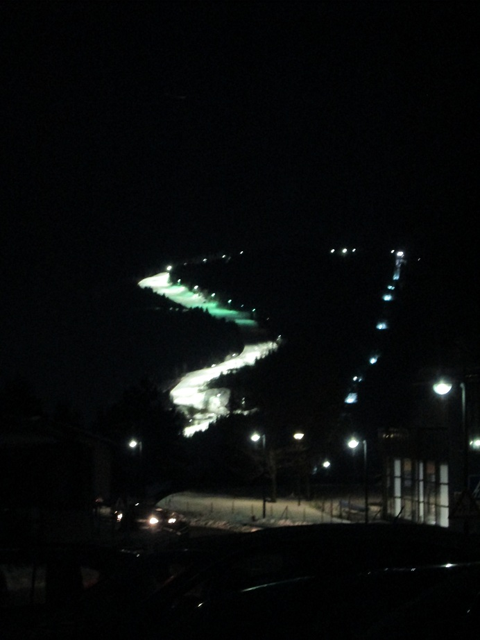 Alpe Cermis at Night