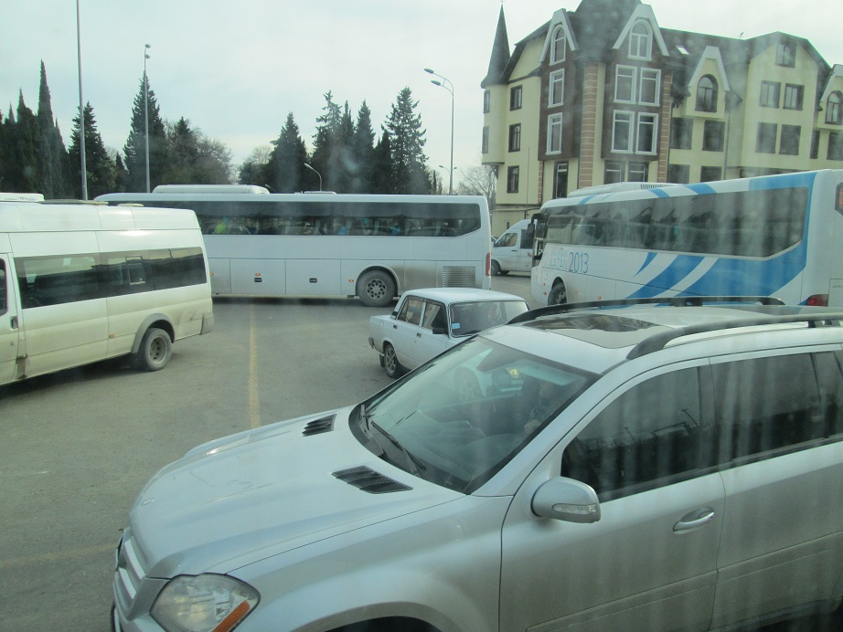 Sochi Bus U-Turn