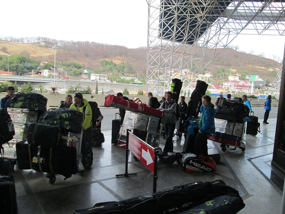 Sochi Airport Check-in