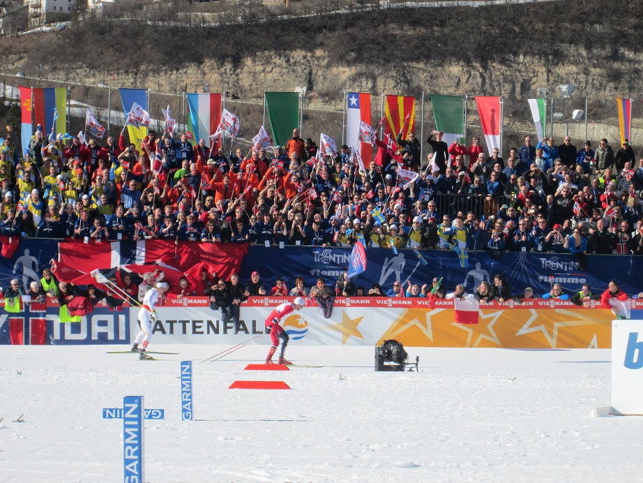World Championship Men's Relay Finish