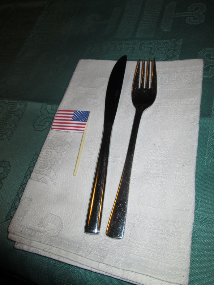 American Flag Toothpick
