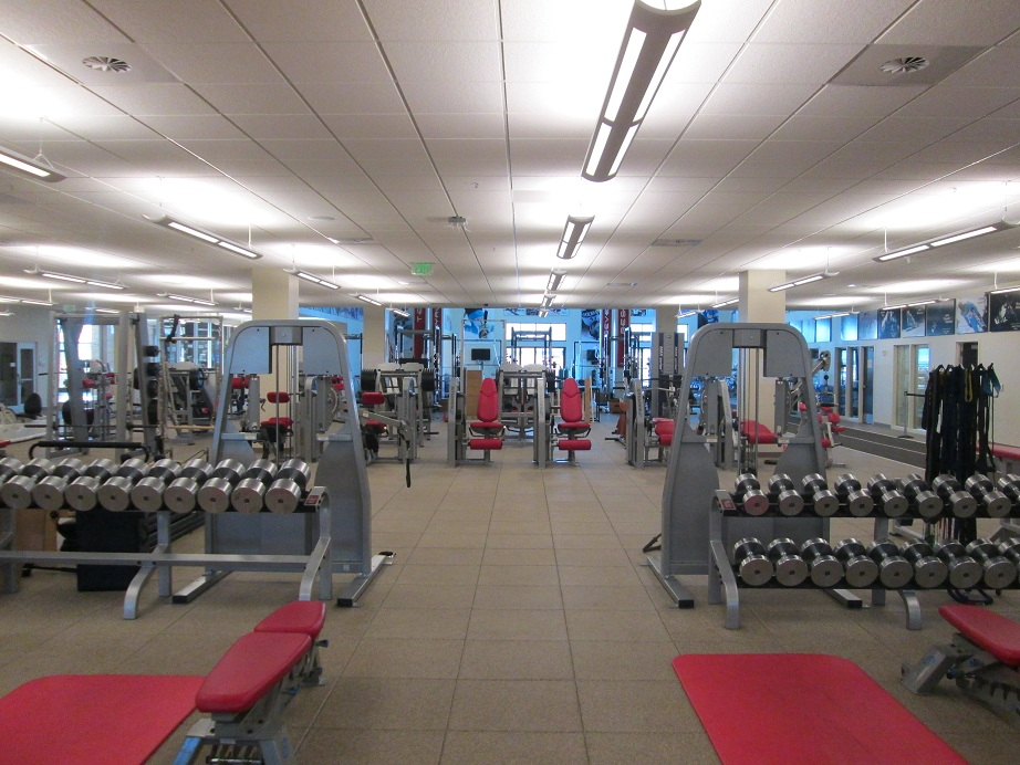Empty Workout Gym Recovery day - noah hoffmannoah hoffman