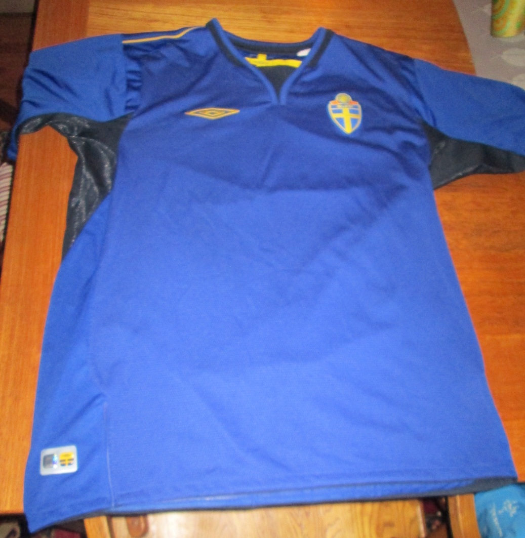 Swedish National Team Soccer Jersey