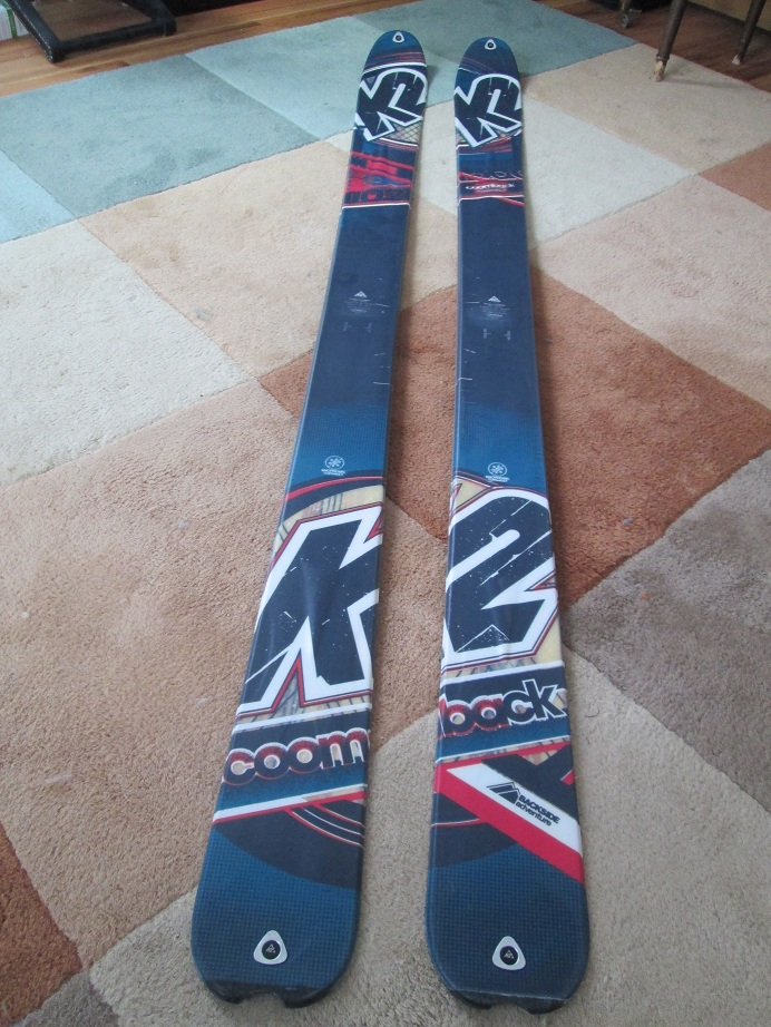 New K2 Coomback Skis