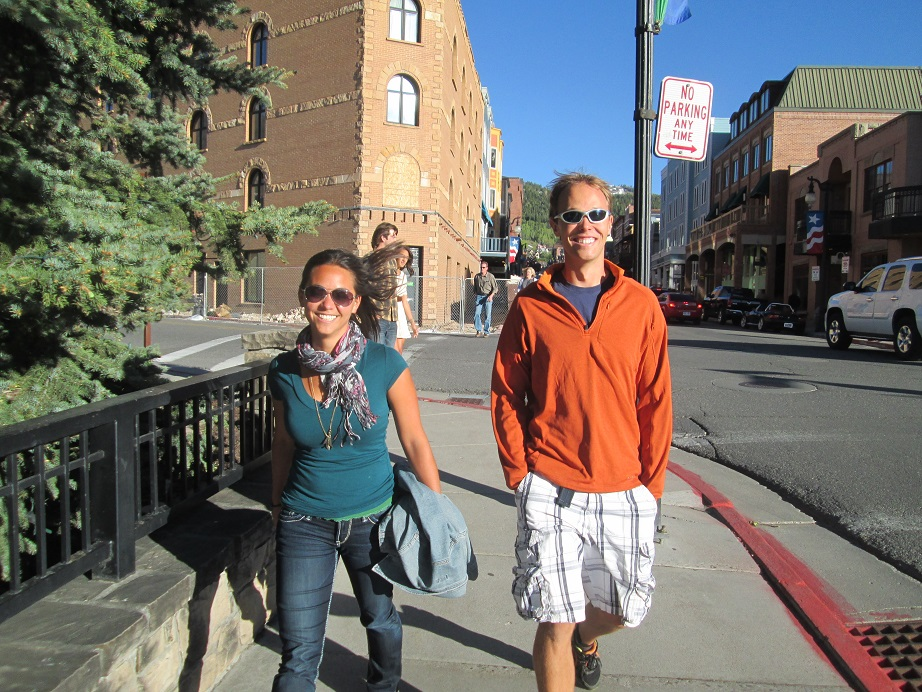 Barton Tofany and Laura Hatanaka in Park City, Utah