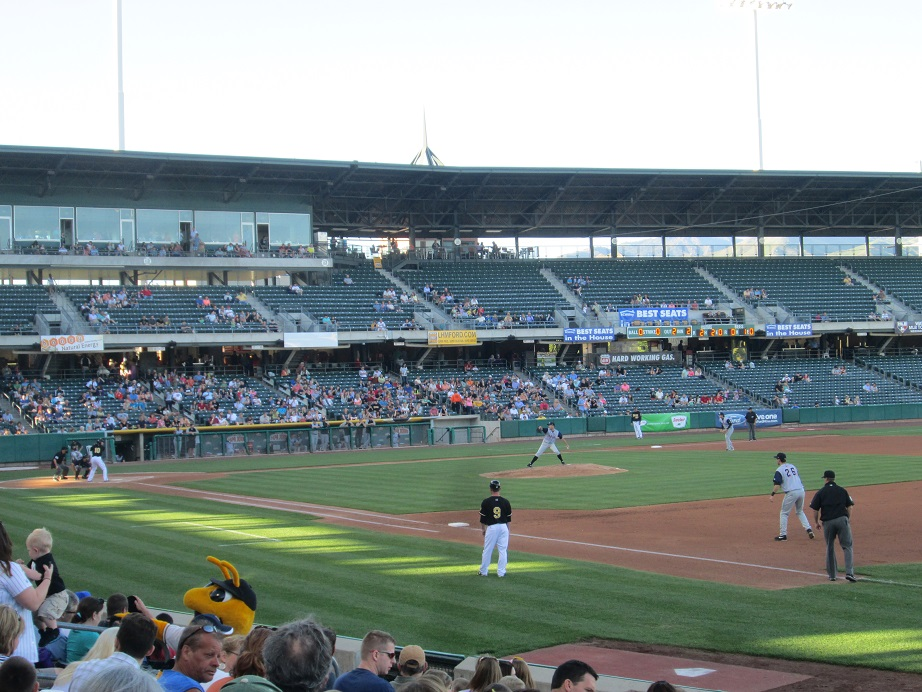 Jeff Francis Pitching for the Colorado Springs Sky Sox at Salt Lake Bees