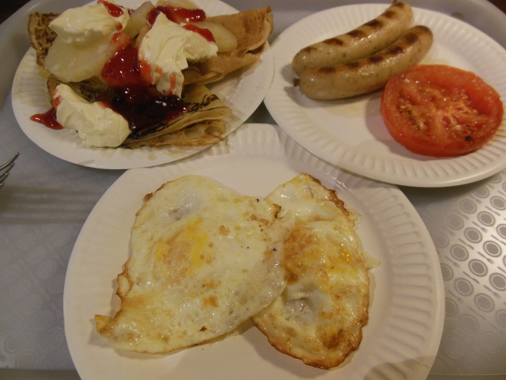 Diverse Breakfast Food in Sochi Olympic Village