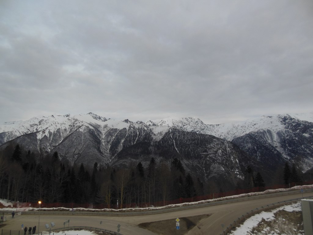 Grey Day at Sochi Olympic Endurance Village
