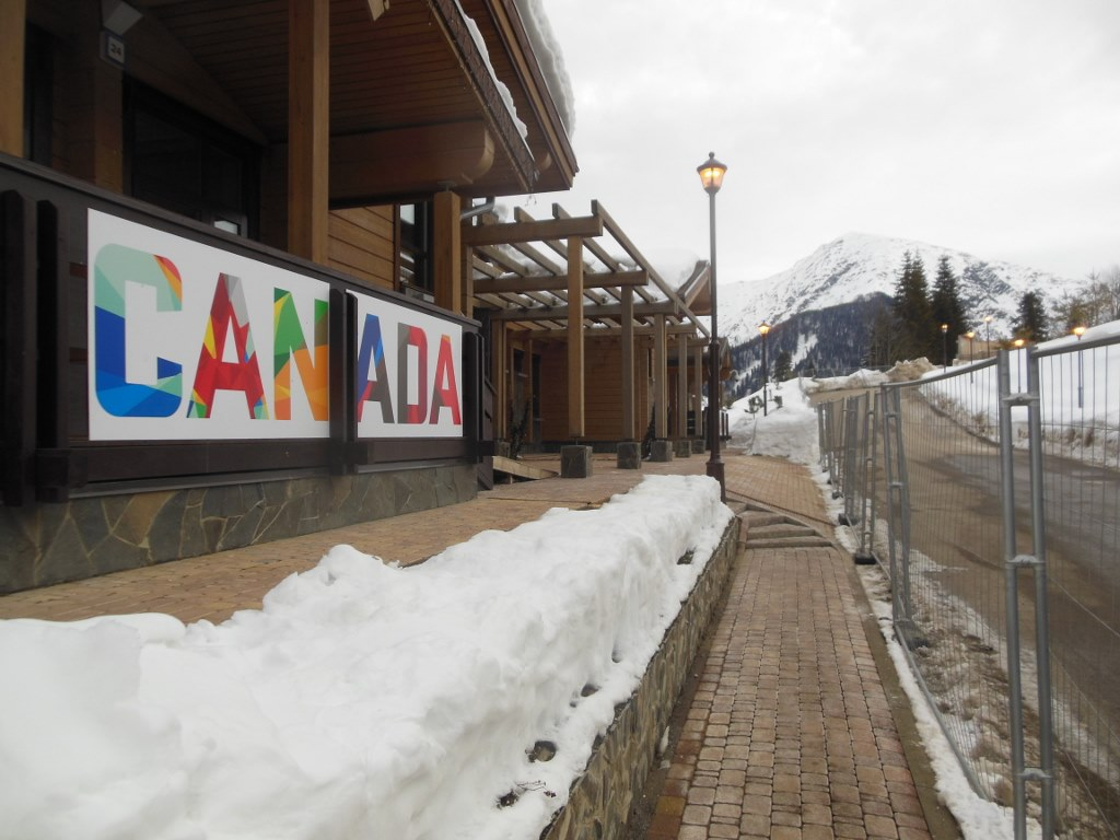 Team Canada Olympic Housing Endurance Village Sochi