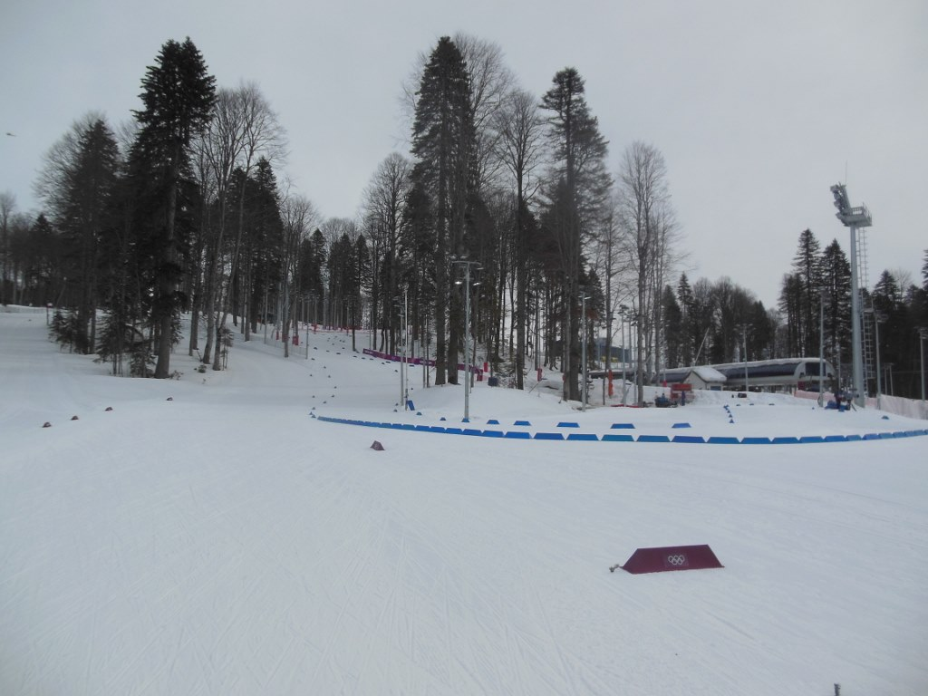 Parallel Olympic Biathlon and Cross Country Courses
