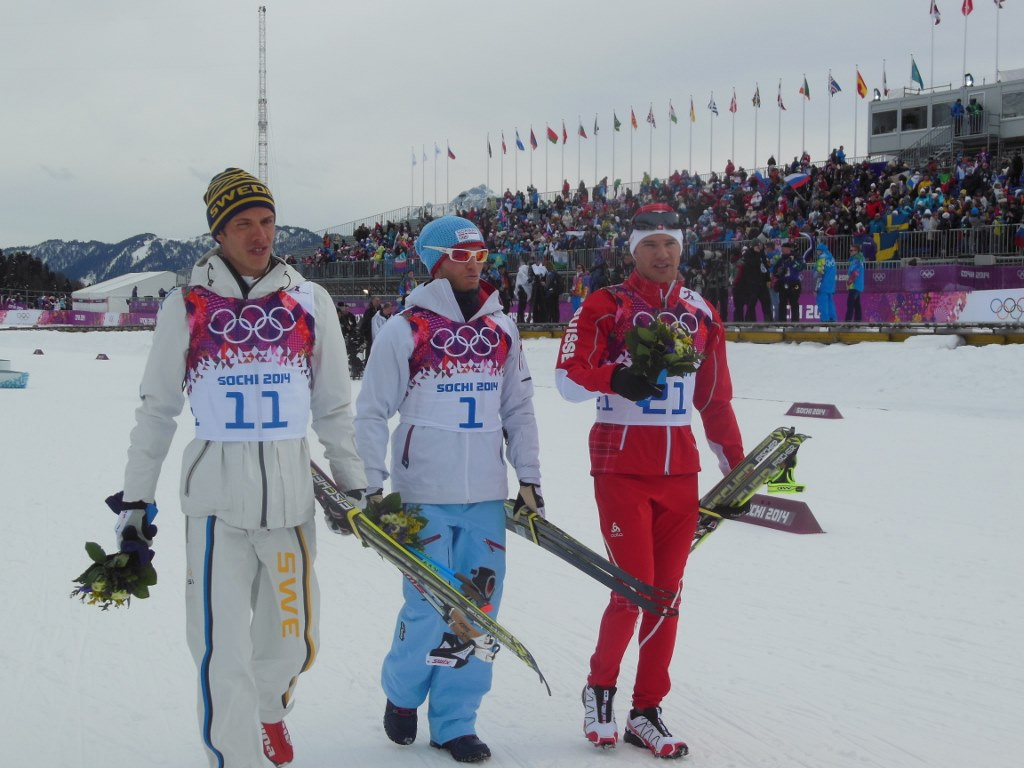 Olympic Skiathlon Medalists Men Sochi